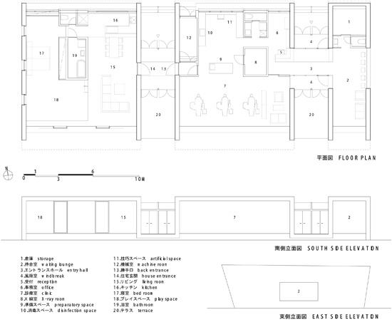 minami-nagano-dental-clinic-residence-plan